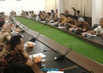 Kunjungan jurnalis Kota Jogjakarta ke Sawahlunto. (tumpak)