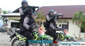 Personil polisi Polres Sawahlunto. (tumpak)