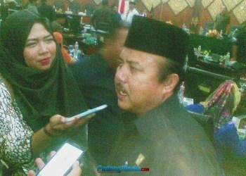 Wakil Ketua DPRD Padang Wahyu Iramana Putra. (baim)