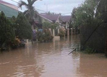 Banjir di Salingka Tabing Bungo Pasang, Koto Tangah, Padang