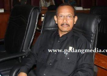 Anggota DPRD Padang, Amrizal Hadi. (baim)