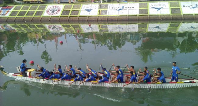 Dragin Boat International Festival (IDBF) XIV tahun 2016. (derius)