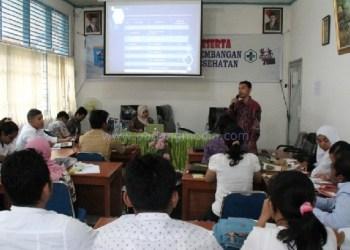 Pelatihan manajemen informasi di Mentawai. (ers)