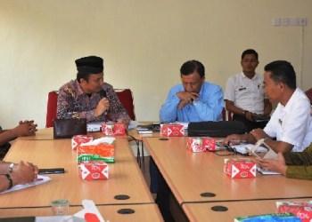 Kunjungan Komisi I DPRD Sumbar ke Kabupaten Agam. (fajar)