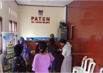 Kelurahan Lolong Belanti, Padang juga menerapkan PATEN. (derius)