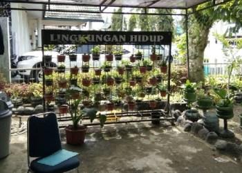 Salah satu sudut SD Negeri Sigando Padangpanjang yang asri. (foto: humas)