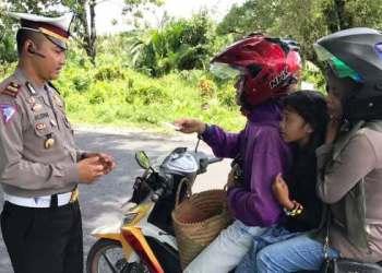 Pelaksanaan Operasi Patuh Singgalang 2017 di Kabupaten Agam. (fajar)