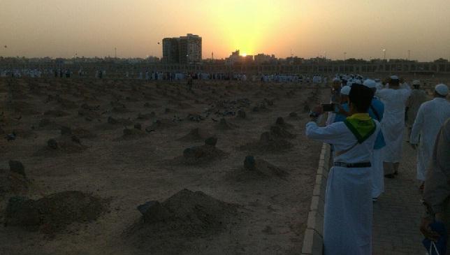 Kuburan bagi jemaah haji yang wafat di tanah suci. (ist)