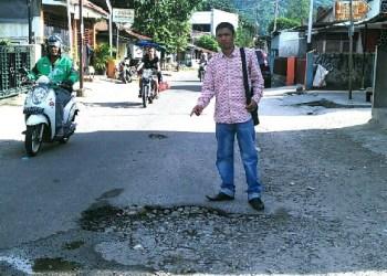 Anggota DPRD Padang, Aprianto. (baim)