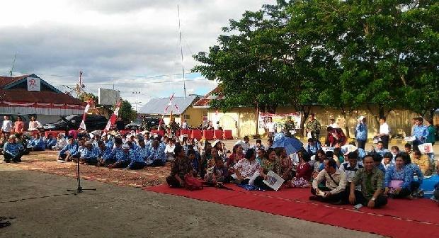 Doa bersama lintas agama dalam rangka HUT Kabupaten Mentawai ke 18. (ers)
