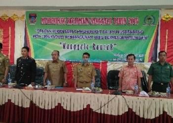 Musrenbang Kec.Nanggalo Kota Padang, Selasa (6/2). (der)