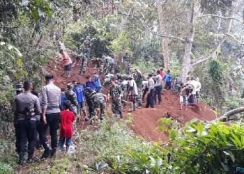 Karya  bakti TNI di Limapuluh Kota. (ist)