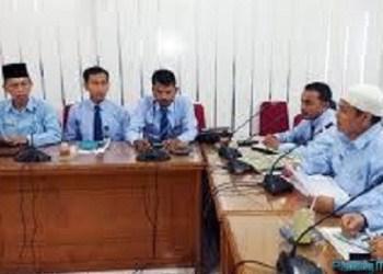 Jajaran pengurus Baznas Kota Padang. (der)