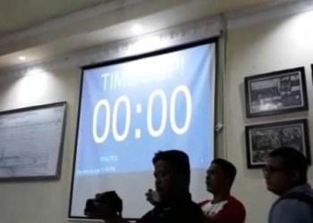Hitung mundur penutupan pendaftaran balon DPD RI KPU Sumbar, tepat pukul 00.00 Wib (Kamis, 12/7). (fdc)