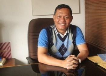 Kabid Pemasaran dan Promosi Disparpora Mentawai, Matheus Samalinggai, Jumat (7/9). (ers)