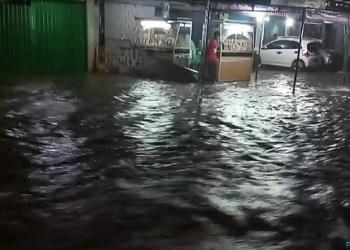 Banjir di Pasaman Barat. (fadli)