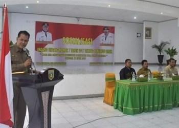 Kepala BPBD Kesbangpol Padangpanjang. (de)