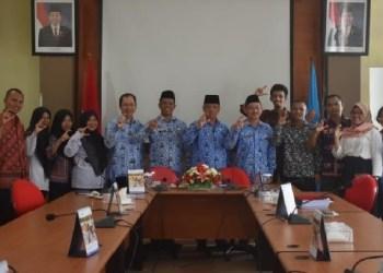 Dinkes Mentawai menerima tim Nusantara Sehat dari Kemenkes. (ers)
