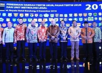 Peresmian UPTD Metrologi Padangpanjang. (ist)