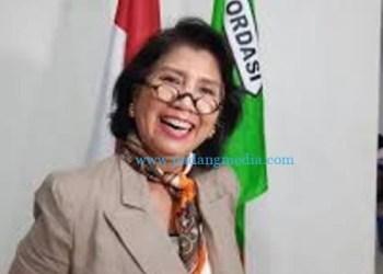 Triwatty Marciano, kandidat calon ketua umum PP Pordasi. (int)