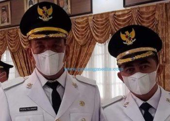 Bupati Pessel 2021-2024 Rusma Yul Anwar - Rudi Haryansyah. (Zal)