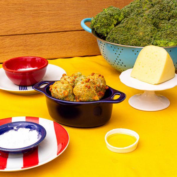 Pãozinho de brócolis