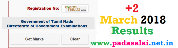 HSC March 2018 Results - padasalai-net-in