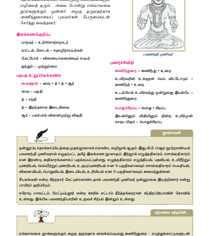 Tamil Medium 11th Standard - 11th tamil text book volume 1 - tn11thcom 21
