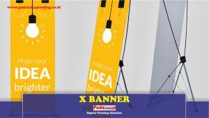 Kelebihan Banner dengan Penyangga X Sebagai Media Promosi