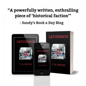 REview Quote Letterbox Sandy's Book a Day Blog