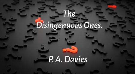 The Disingenuous Ones - Poem Image