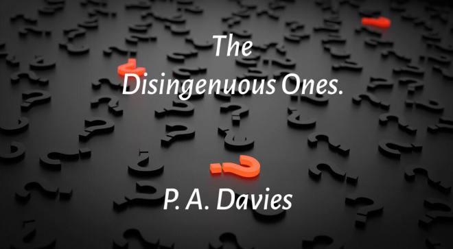 The Disingenuous Ones - Poem Image