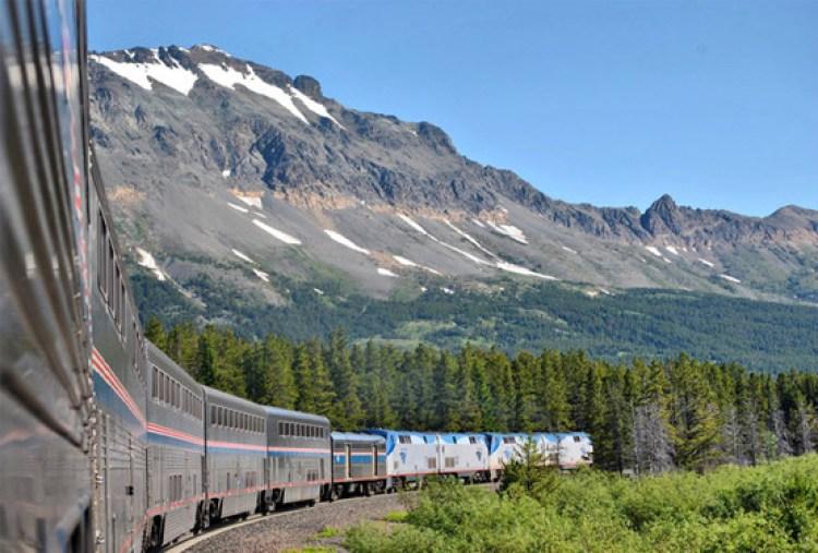Train in Montana