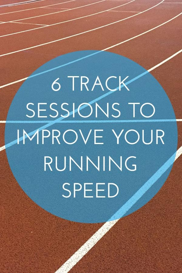 Track Sessions to improve your running speed