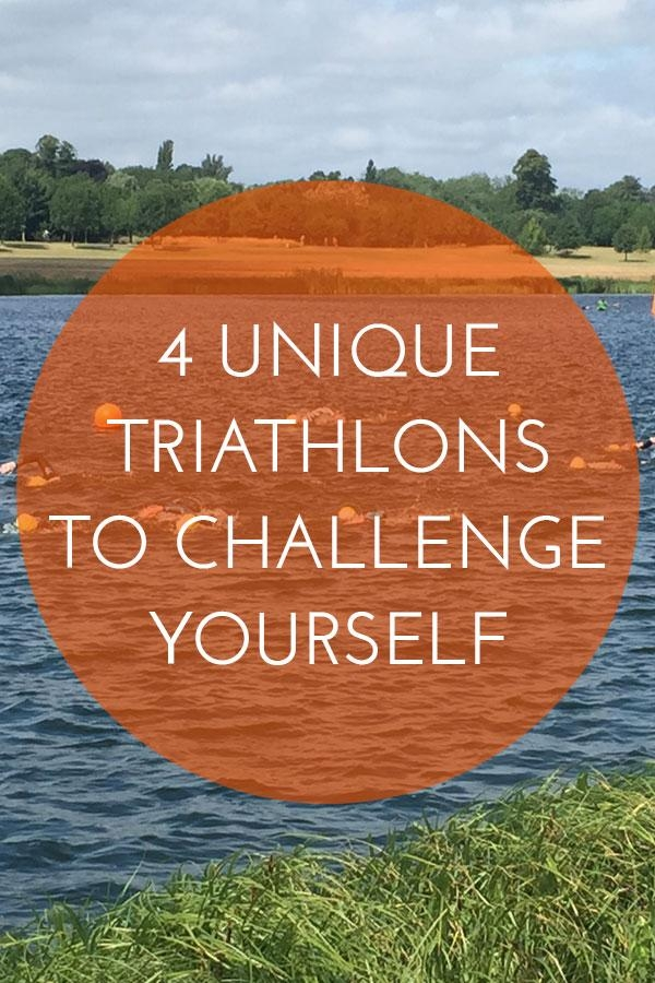 Looking for a triathlon with a unique and challenging format? These races include SUP, trail running tandems and night time racing
