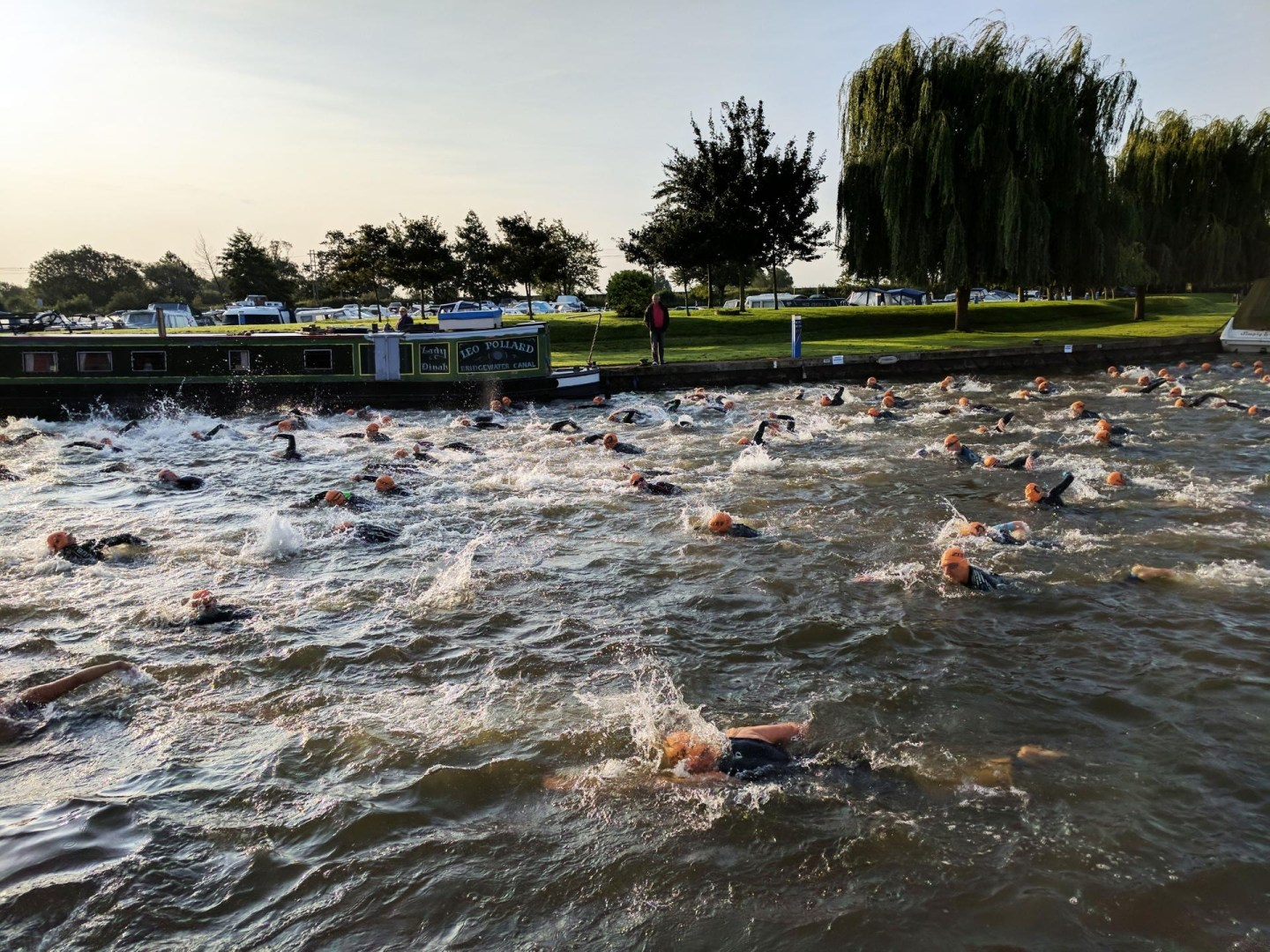 Fear of open water swimming