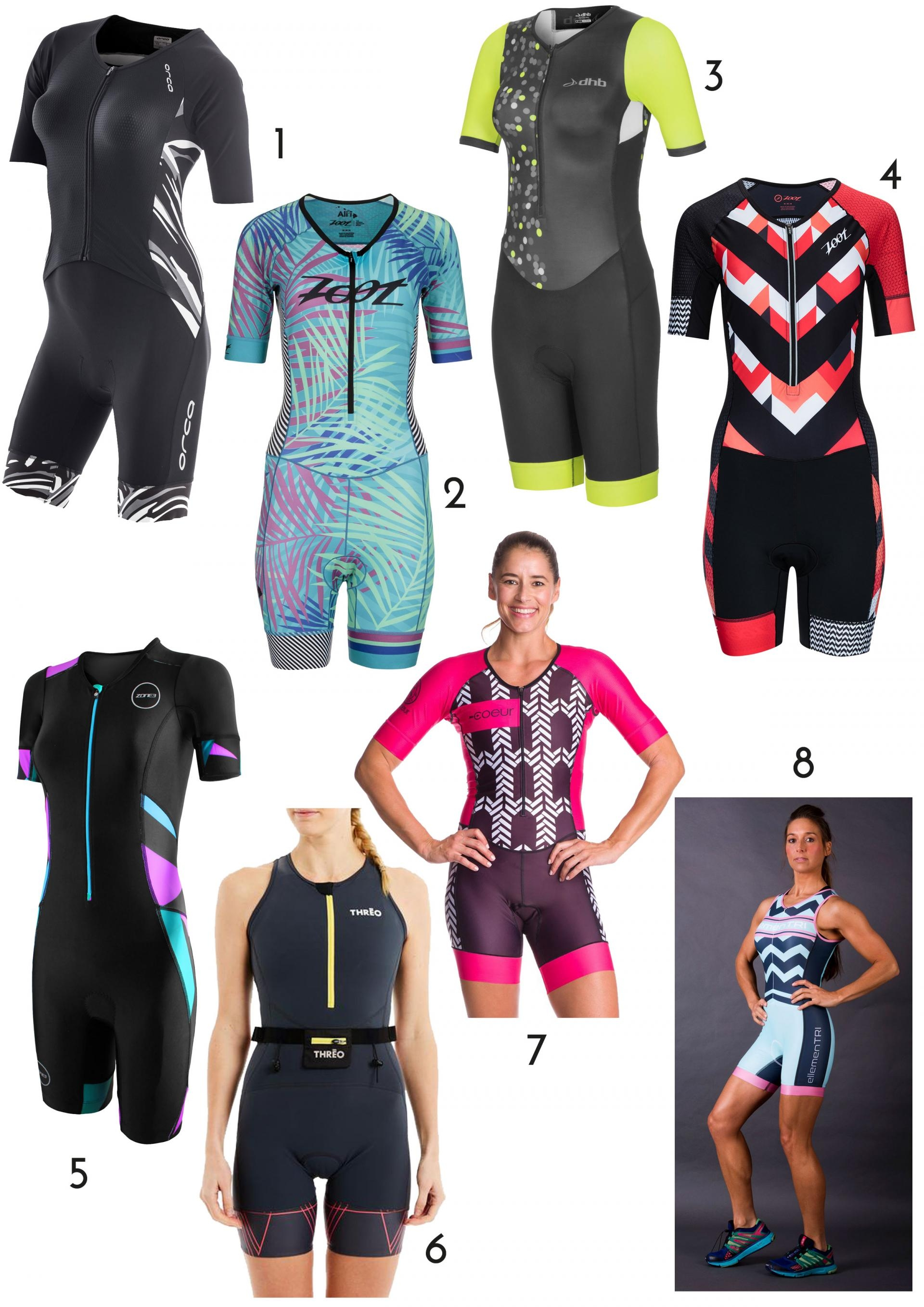 8 of the best women's trisuits