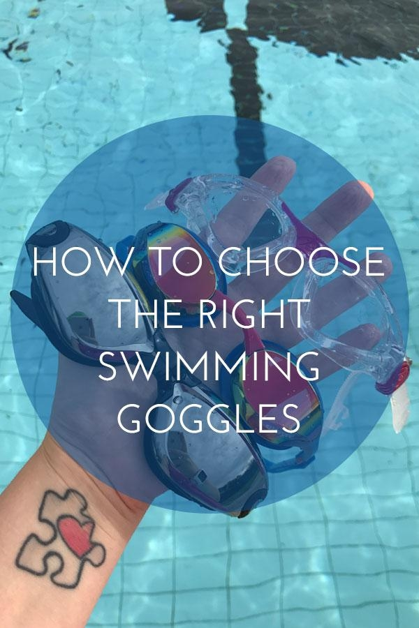 Swimming goggles are essential to protect the eyes and improve visibility- here are some tips on choosing the right pair of goggles