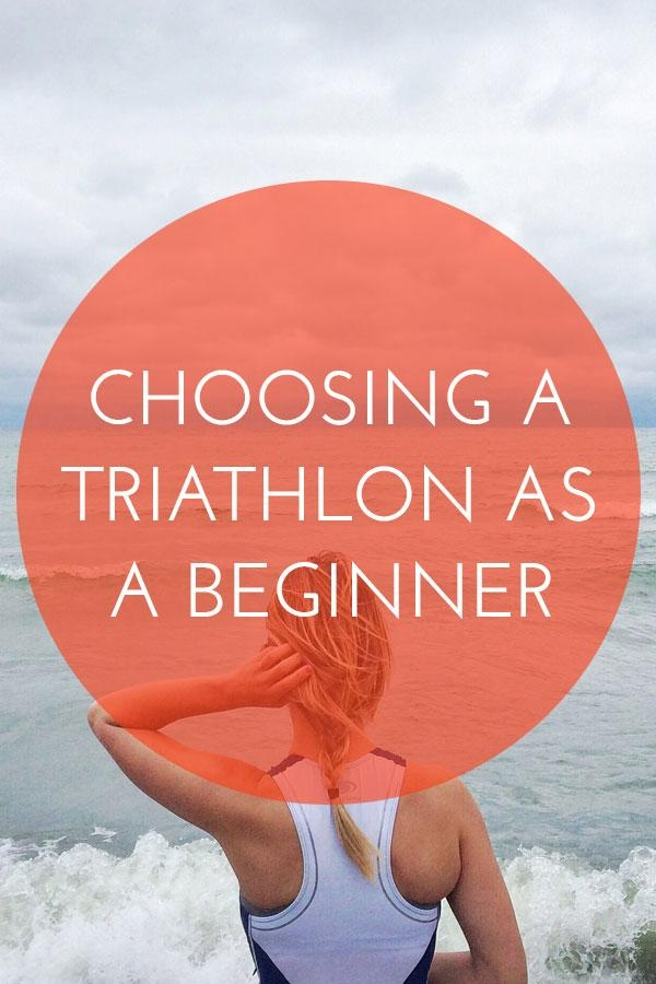 Choosing a triathlon