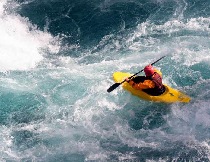 White Water Kayaker