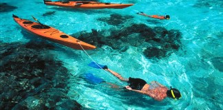 kayak-snorkel