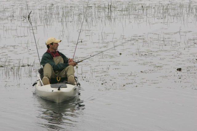Pro kayak angler reaps the benefits of kayak fishing