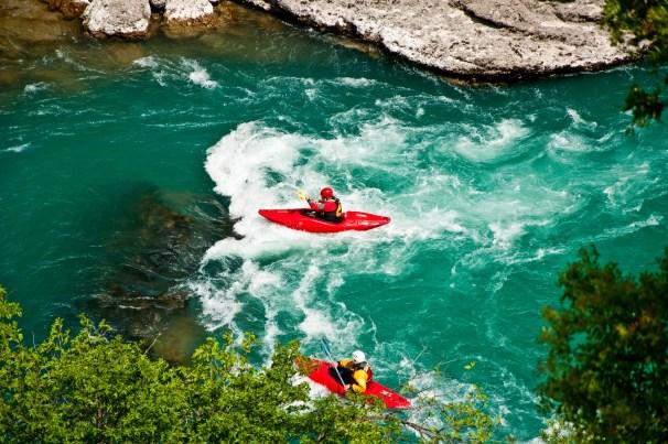 Dangers of kayaking in whitewater