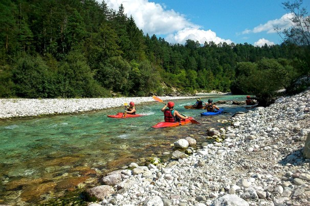 Beginner River Kayaking Class