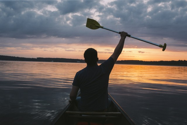 Personal growth through paddling