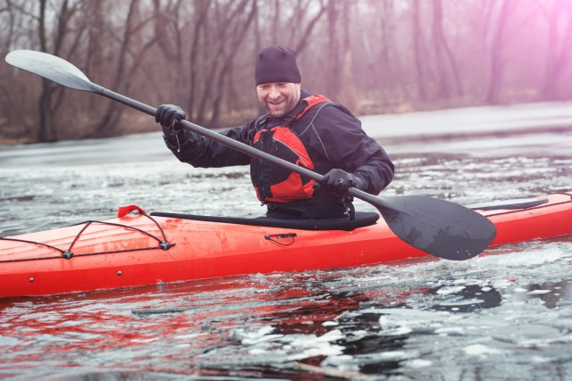 Dress for the Water Temperature When Kayaking