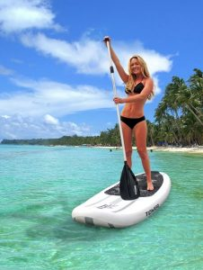 Tower Adventurer inflatable standup paddleboard - great paddling