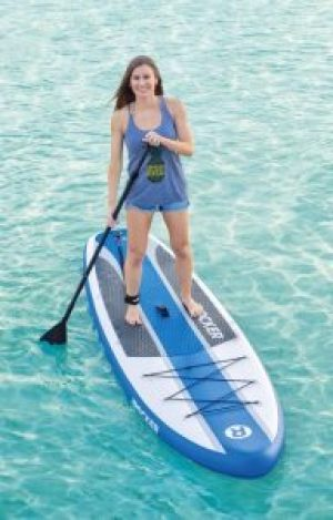 iRocker Inflatable CRUISER Stand Up Paddleboard