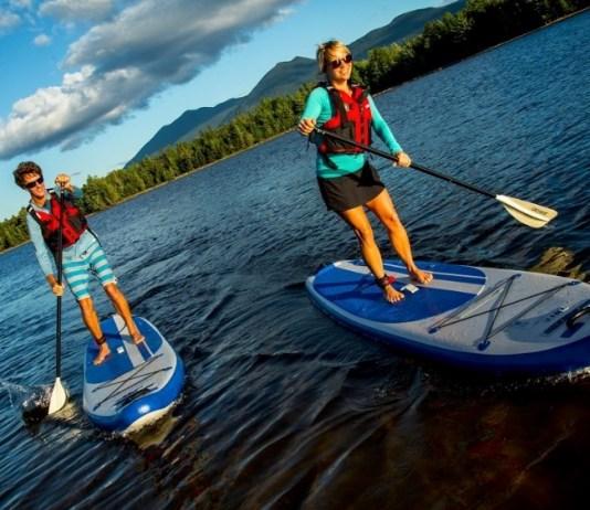 Sea Eagle LB11 Inflatable standup paddleboard 11 feet longboard SUP - great for cruising