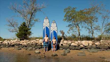 Sea Eagle LB126 Inflatable SUP LongBoard - 2 paddleboard sizes